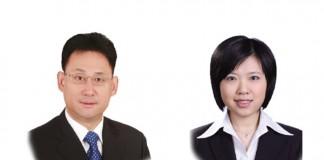 Zhen Qinggui and Zhang Liang at Zhonglun WD Law Firm