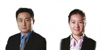 Vincent Mu and Chloe Lin