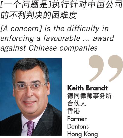 Keith Brandt 德同律师事务所 合伙人 香港 Partner Dentons Hong Kong