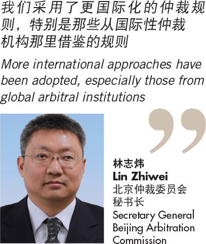 林志炜 Lin Zhiwei 北京仲裁委员会 秘书长 Secretary General Beijing Arbitration Commission
