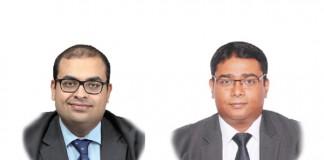 A photo of Jeet Sen Gupta and Deep Roy