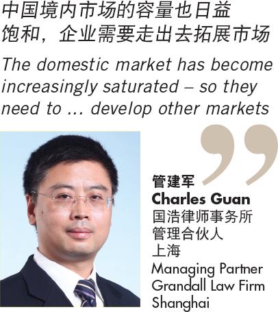 管建军 Charles Guan 国浩律师事务所 管理合伙人 上海 Managing Partner Grandall Law Firm Shanghai