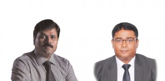 A feature image of Babu Sivaprakasam and Deep Roy for the article about rbi guidelines on factoring