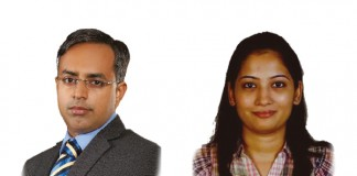 A photo of Karthik Sundaram and Tejus Golchha