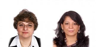 Dina Wadia and Shivpriya Nanda