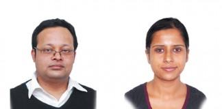 Kumar Visalaksh and Stella Joseph