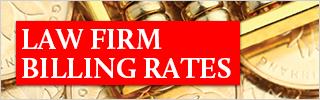 Law firm billing rates 2017