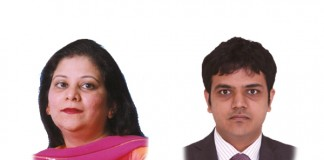 Vandana Shroff and Surya Kiran Banerje