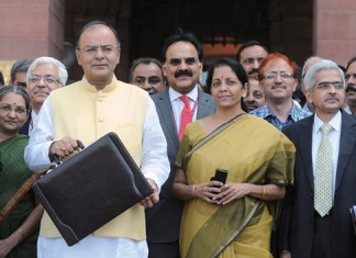 India's annual budget and goods and services tax