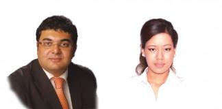 Vivek Vashi and Prakritee Yonzon