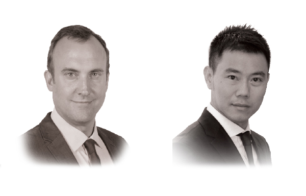 William Greenlee and Robin Ruu Pin Teow at DFDL