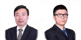 金诚同达律师事务所上海办公室主任及高级合伙人赵平;金诚同达合伙人刘建强-Zhao-Ping-and-Frank-Liu