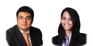 A photo of Vivek Vashi and Shaheda Madraswala