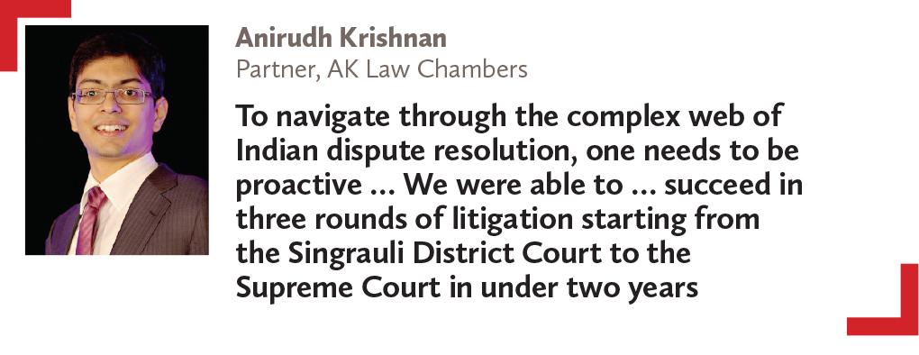 Anirudh Krishnan Partner, AK Law Chambers