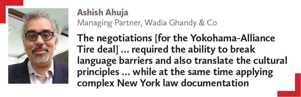 Ashish Ahuja Managing Partner, Wadia Ghandy & Co