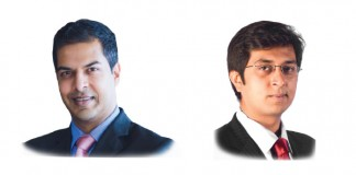 Anuj Bhasme and Gaurav Dugar at Shardul Amarchand Mangaldas & Co