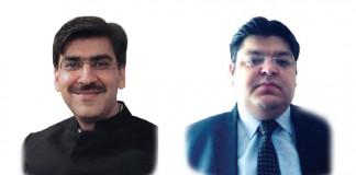 A photo of Gautam Khurana and Abhishek Hans