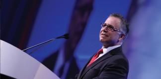在华盛顿举行的国际商标协会第134届年会主席Gregg Marrazzo