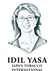 IDIL YASA is the branding ban vice-president at Japan Tobacco International.