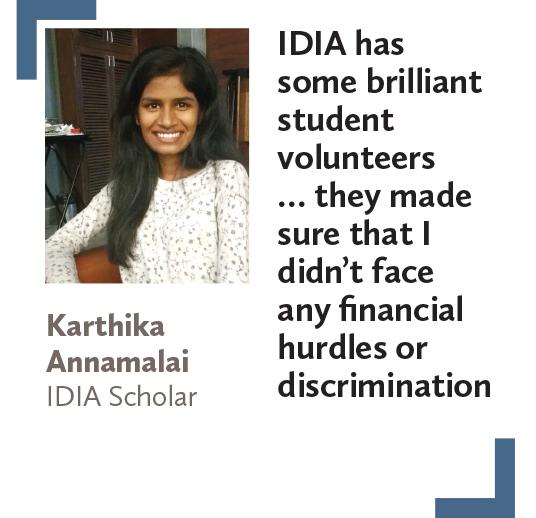 Karthika Annamalai IDIA Scholar