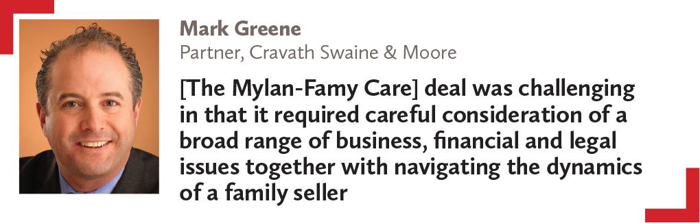 Mark Greene Partner, Cravath Swaine & Moore