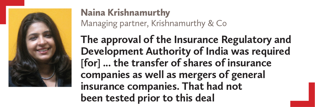Naina Krishnamurthy Managing partner, Krishnamurthy & Co