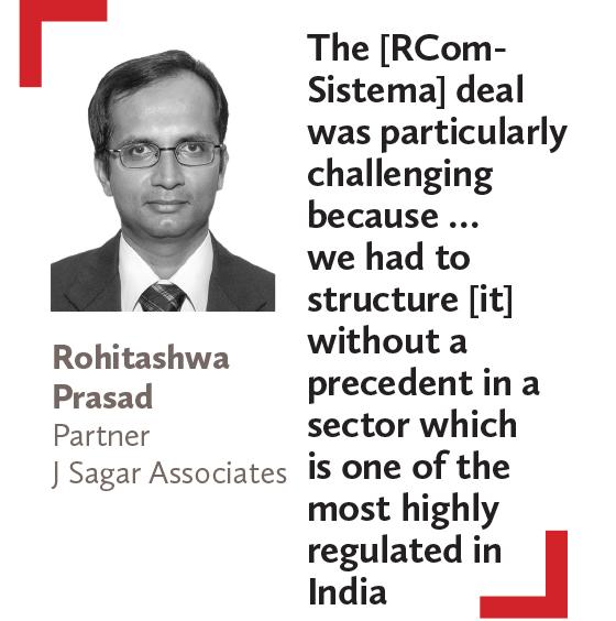 Rohitashwa Prasad Partner J Sagar Associates