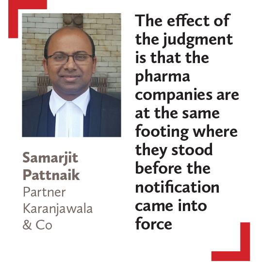 Samarjit Pattnaik Partner Karanjawala & Co