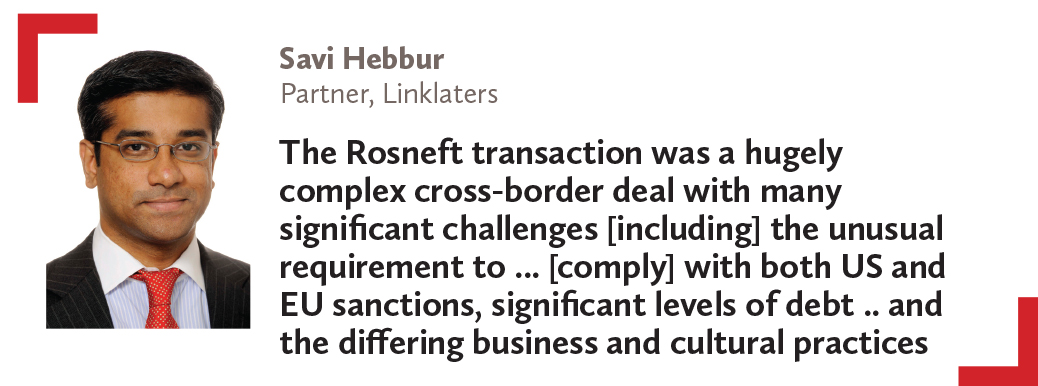 Savi Hebbur Partner, Linklaters