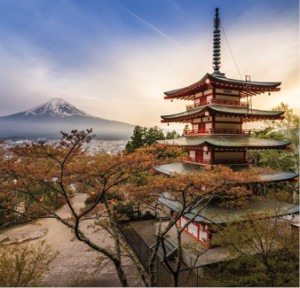 Shrine_and_Mount_Fuji,_Japan