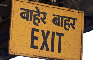 Escape routes: Analysts say there are over 500 private equity funds waiting to exit their investments in India.