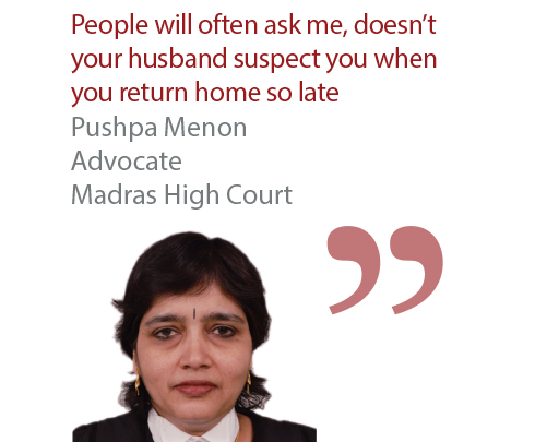 Pushpa Menon Advocate Madras High Court