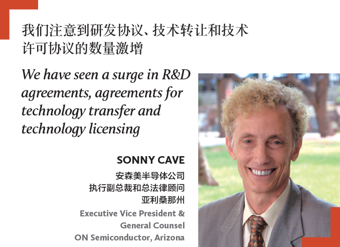 Sonny Cave Executive Vice President & General Counsel ON Semiconductor, Arizona