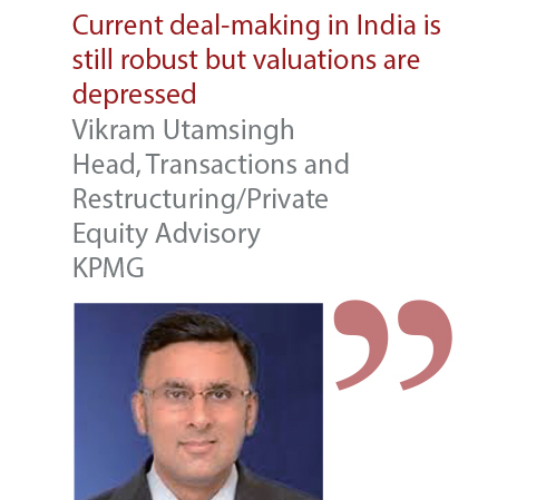 Vikram Utamsingh Head, Transactions and Restructuring Private Equity Advisory KPMG