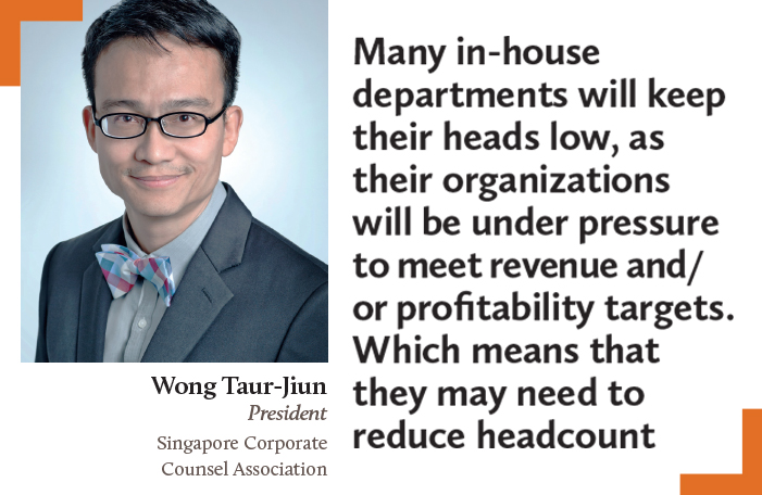 Wong Taur-Jiun President Singapore Corporate Counsel Association