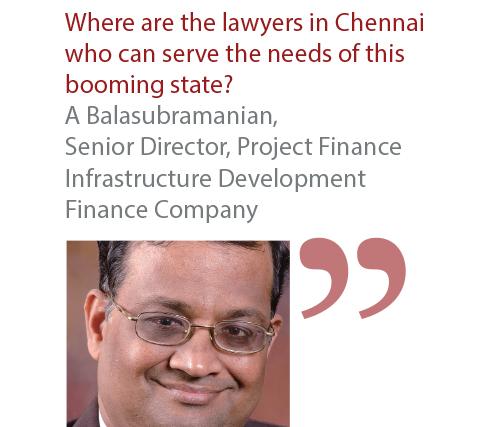 A Balasubramanian Senior Director, Project Finance Infrastructure Development Finance Company