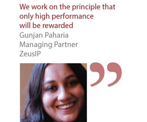 Gunjan Paharia Managing Partner ZeusIP