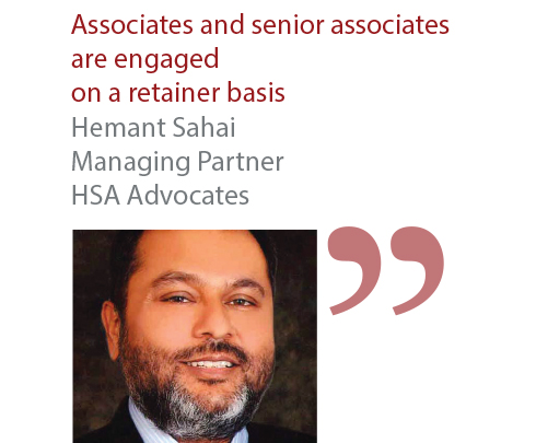 Hemant Sahai Managing Partner HSA Advocates