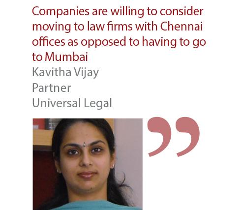 Kavitha Vijay Partner Universal Legal