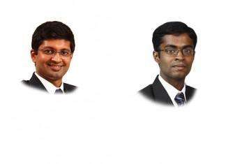 L Badri narayanan and Asish Philip Abraham at Lakshmikumaran & Sridharan,