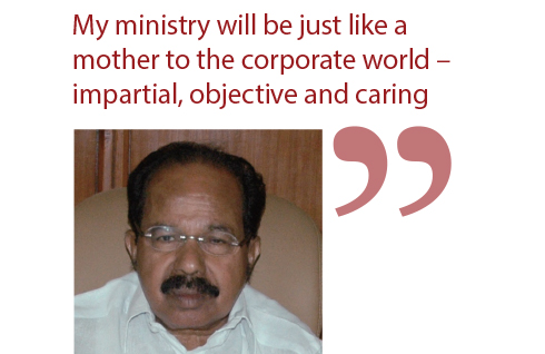 M Veerappa Moily Minister of Corporate Affairs 4
