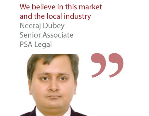 Neeraj Dubey Senior Associate PSA Legal