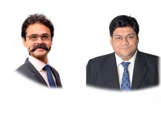 Sawant Singh and Aditya Bhargava at Mumbai office of Phoenix Legal