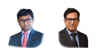 Shuva Mandal and Ankit Mishra at Shardul Amarchand Mangaldas