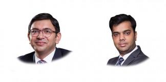 Siddhanth Pandey and Soumya Kanti De Mallik at HSA Advocates