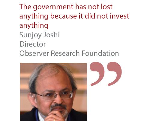 Sunjoy Joshi Director Observer Research Foundation