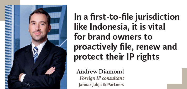 Andrew Diamond, Foreign IP consultant, Januar Jahja & Partners