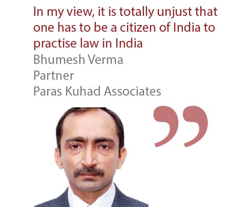Bhumesh Verma Partner Paras Kuhad Associates