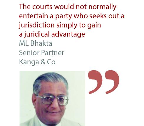 ML Bhakta Senior Partner Kanga & Co