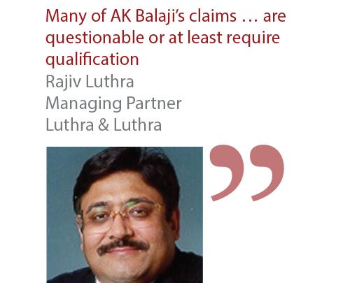 Rajiv Luthra Managing Partner Luthra & Luthra